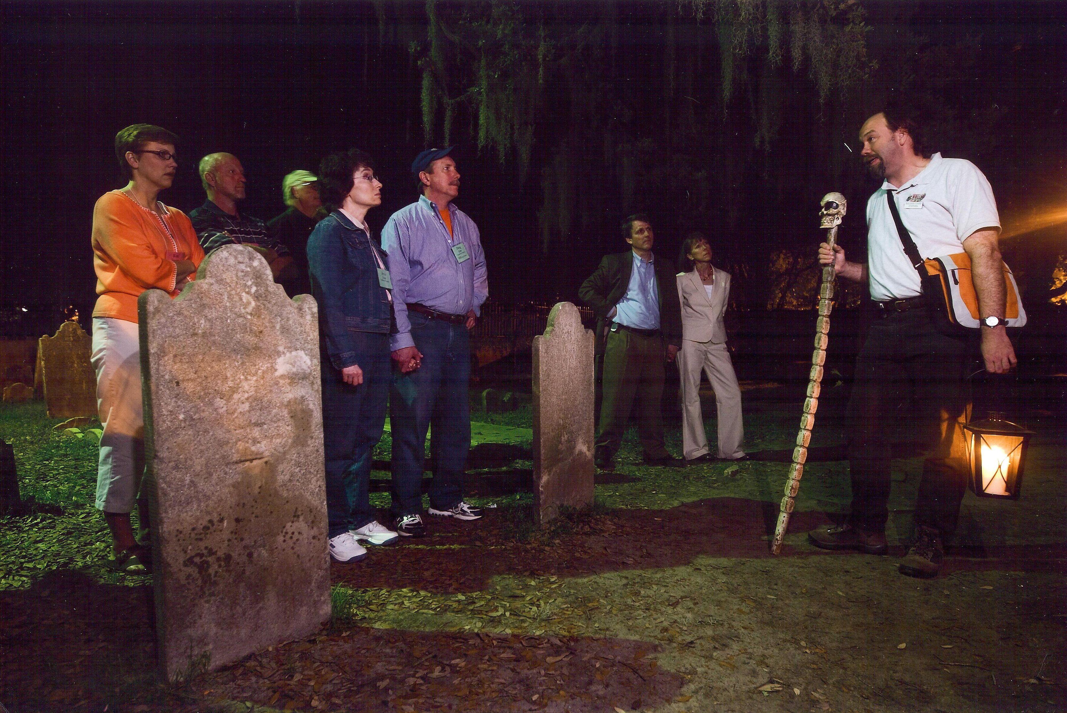 Ghosts & Graveyards Walking Tour