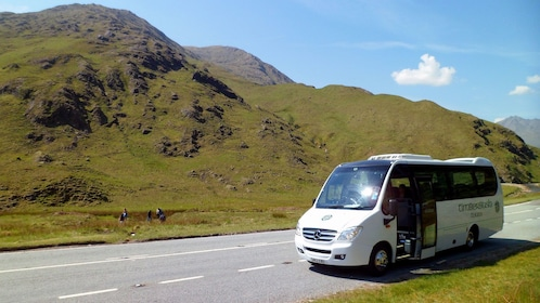 tour bus in scotland