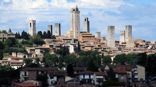 City view on Siena and San Gimignano Full-Day Tour in Italy