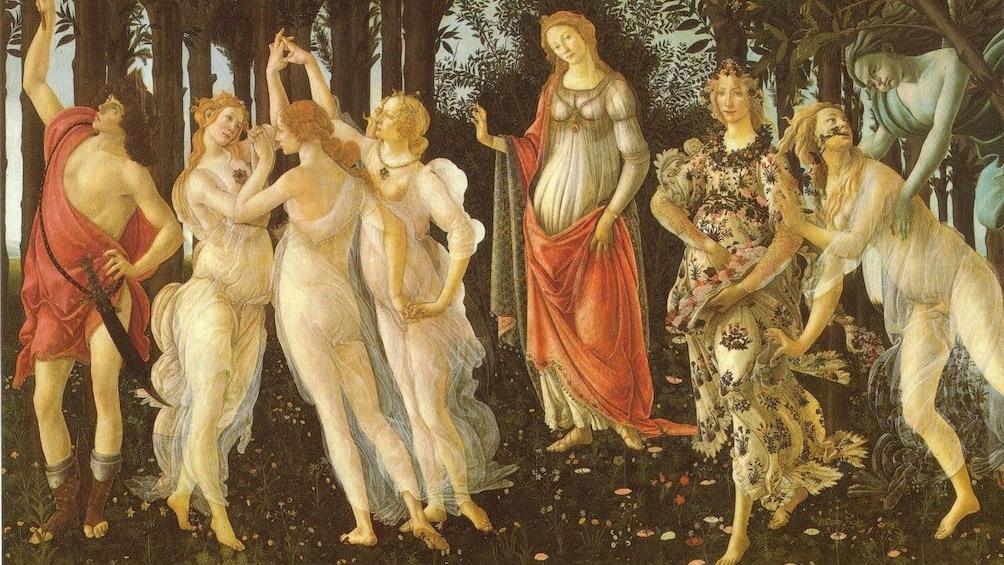 แสดงภาพที่ 1 จาก 8 Painting at Uffizi Gallery Guided Tour in Florence Italy