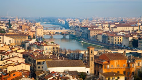 City view on Wine Tasting in Florence Italy