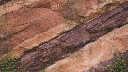 Red rock layers in Denver