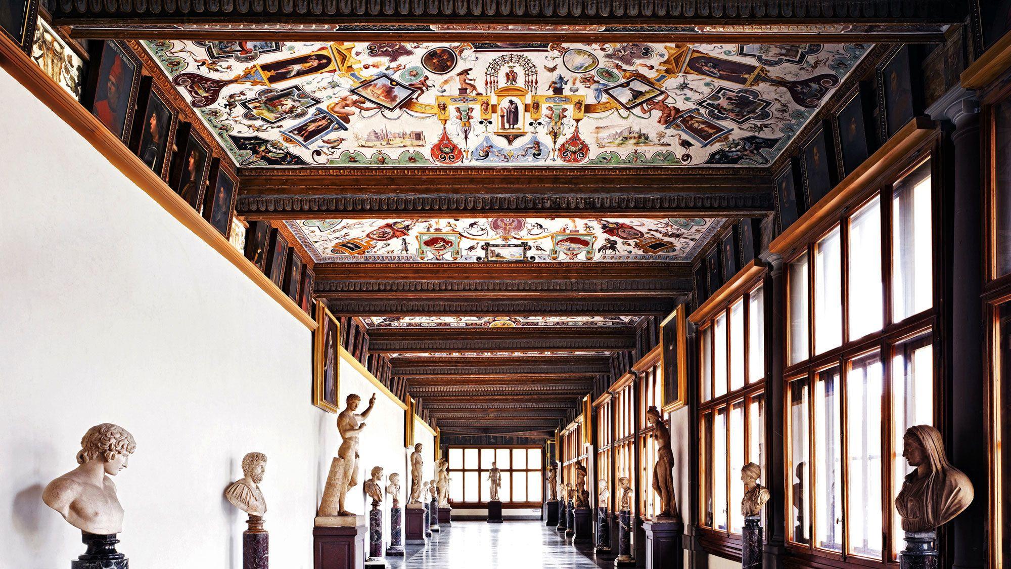 """Biglietti per la Galleria degli Uffizi con ingresso """"salta la fila&quo..."""