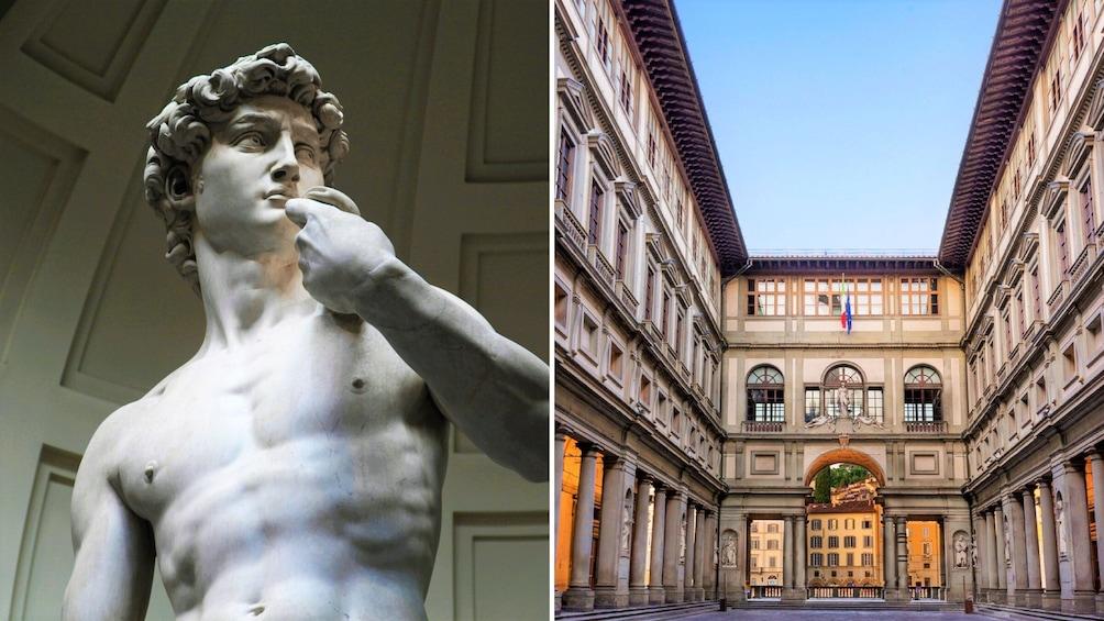 正在顯示第 1 張相片,共 10 張。 Florence half day combo tour with David, Uffizi & Duomo