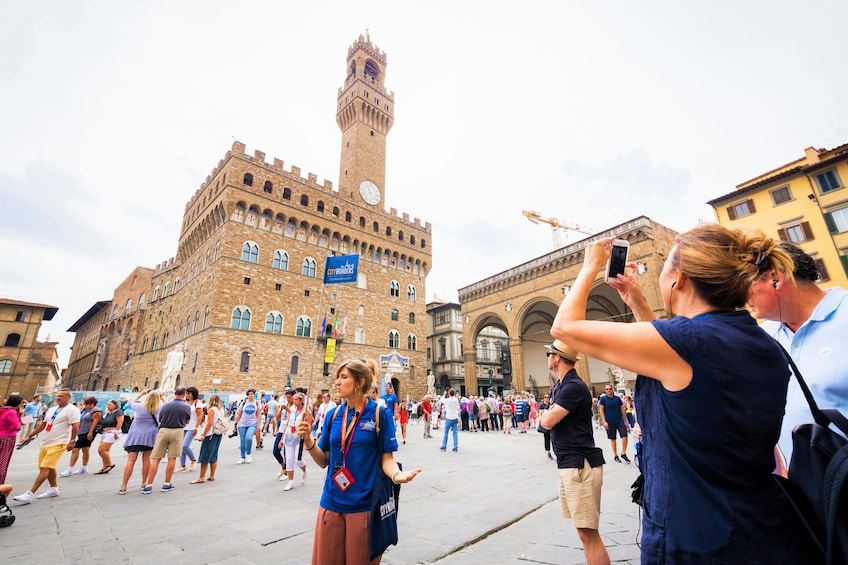 正在顯示第 5 張相片,共 10 張。 Florence half day combo tour with David, Uffizi & Duomo