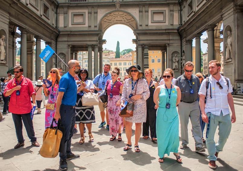 正在顯示第 4 張相片,共 10 張。 Florence half day combo tour with David, Uffizi & Duomo