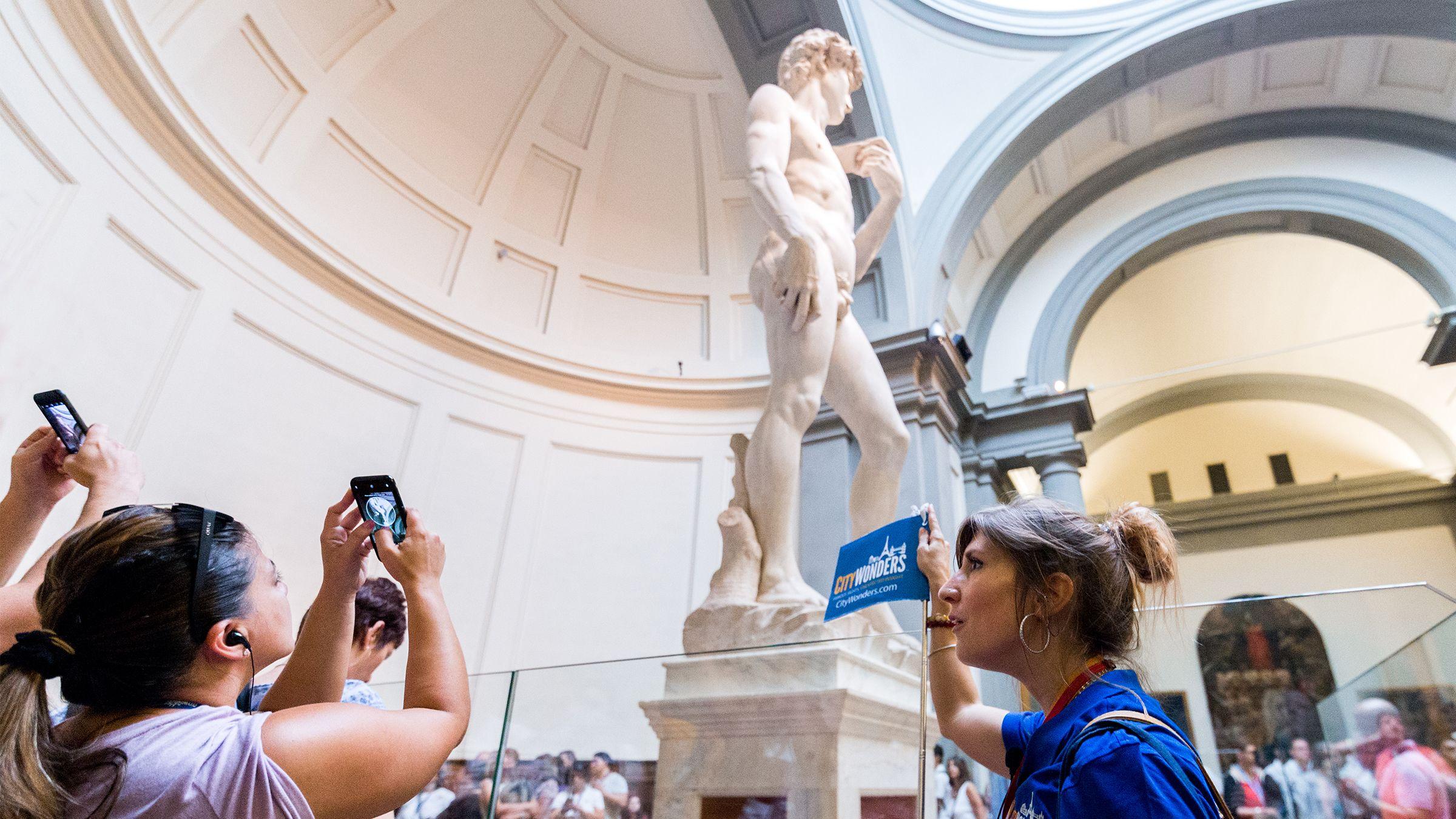 Florens på en dag: ComboSaver tur med David och Uffizierna och mer