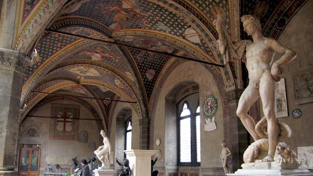 Apri foto 3 di 10. Interior at Bargello Museum in Florence Italy