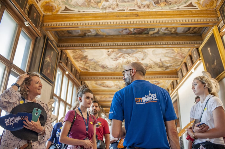 Uffizi Gallery Small-Group Guided Tour with Skip-the-Line