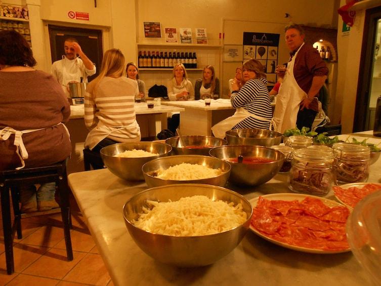Pizza & Gelato Evening Cooking Class