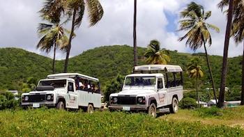 Jeeppisafari saarella