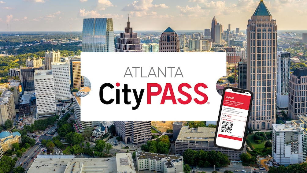Show item 1 of 8. Atlanta CityPASS: Admission to Top 5 Atlanta Attractions