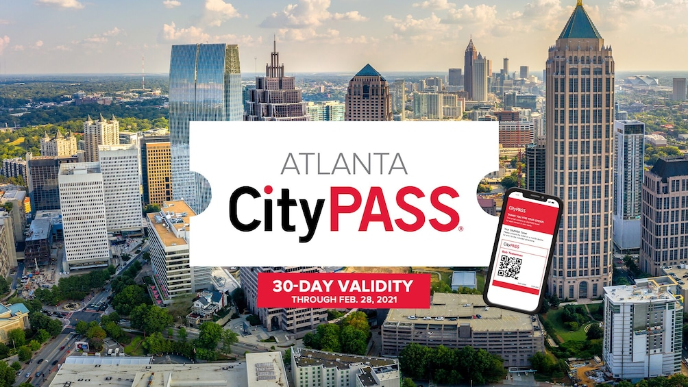 Show item 1 of 10. Atlanta CityPASS: Admission to Top 5 Atlanta Attractions