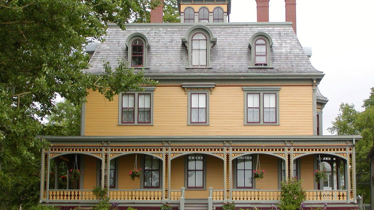 Beaconsfield Historic House features Victorian architecture from Prince Edwards Island