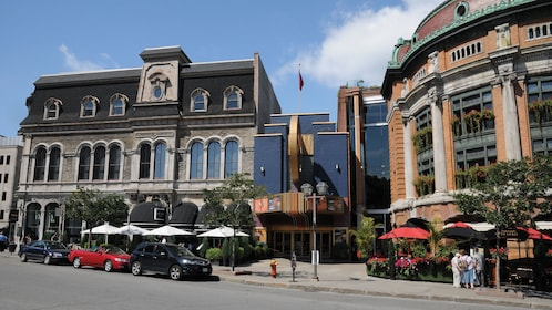 Victorian architecture in Quebec City
