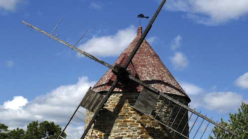 Traditional windmill in Quebec