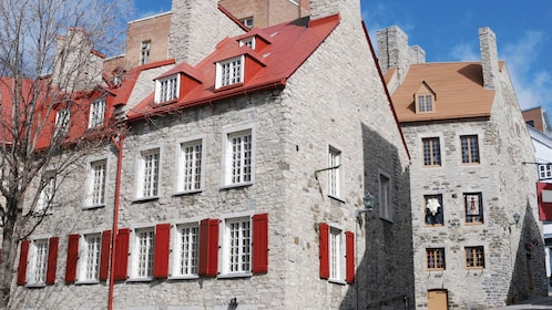 Historic buildings near the Palace Royale of Quebec City