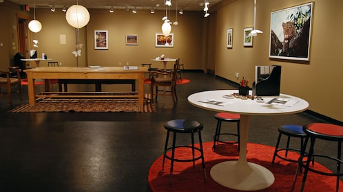 Creative area at National Museum of Wildlife Art in Jackson Hole
