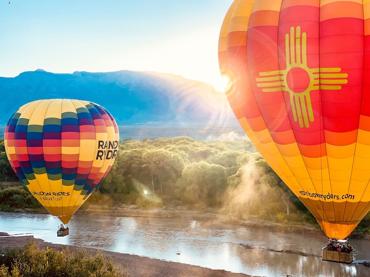 Show item 1 of 10. Albuquerque Sunrise Hot Air Balloon Ride