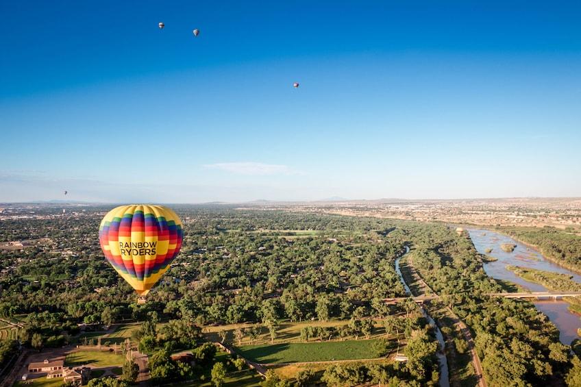 Show item 10 of 10. Albuquerque Sunrise Hot Air Balloon Ride