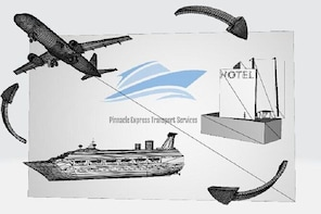 SFB Airport Private Shuttle Package AIRPORT(SFB) - HOTEL - PORT - AIRPORT(S...