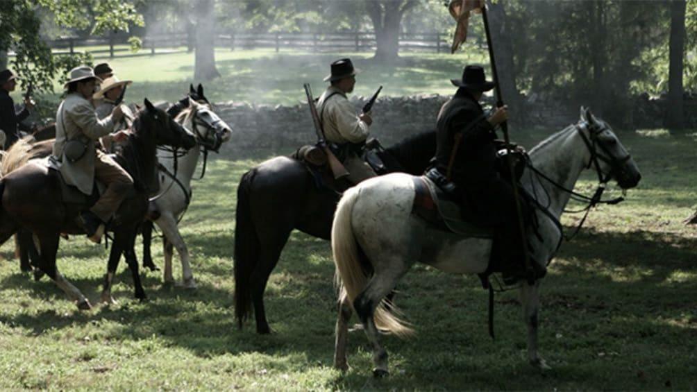 Show item 3 of 5. Civil War reenactment in Nashville