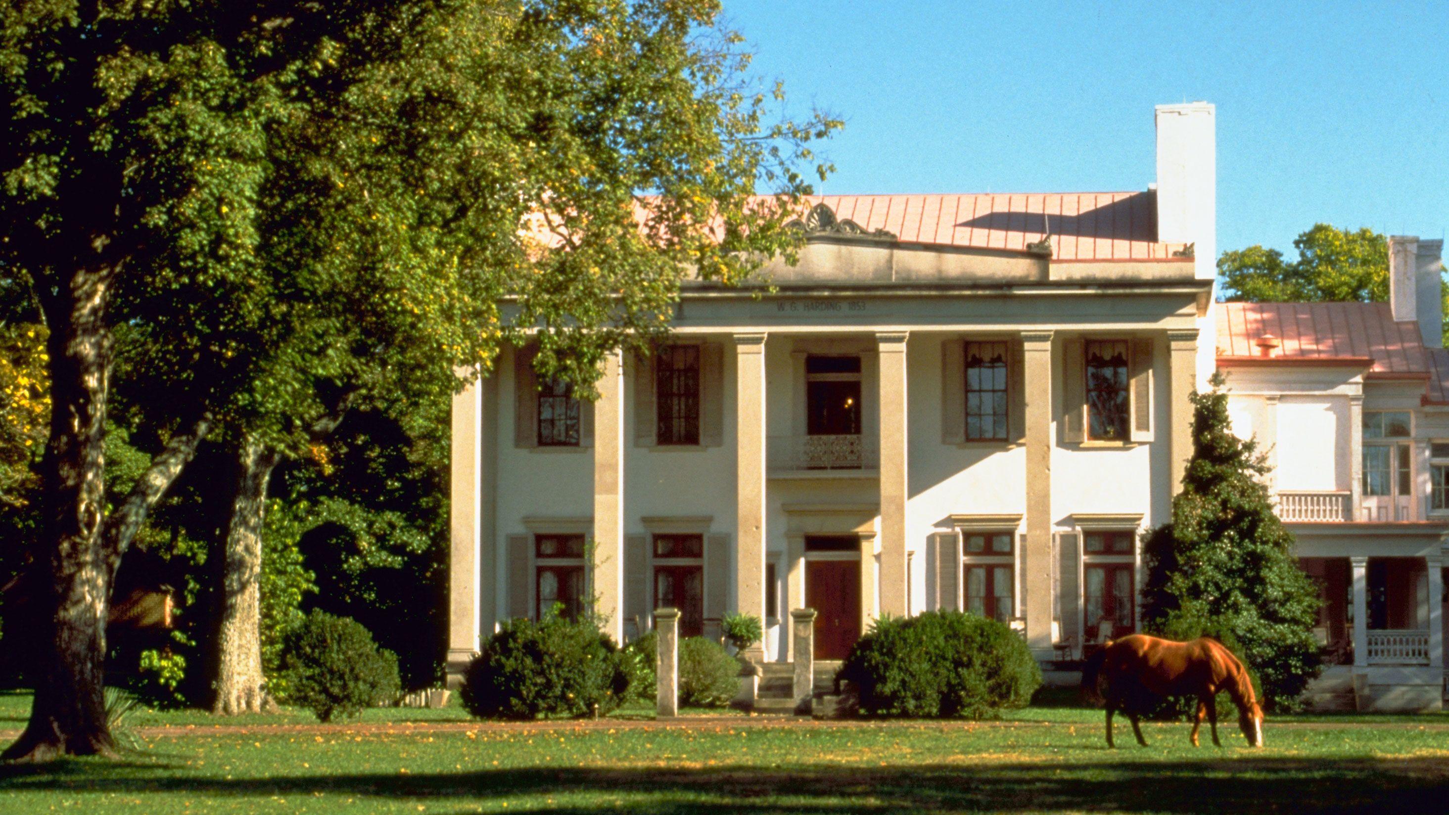 Historic mansion in Nashville