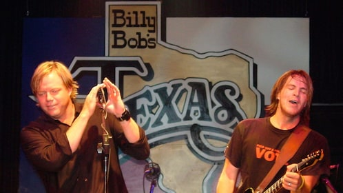 Music entertainers at the Billy Bob's Texas in Dallas