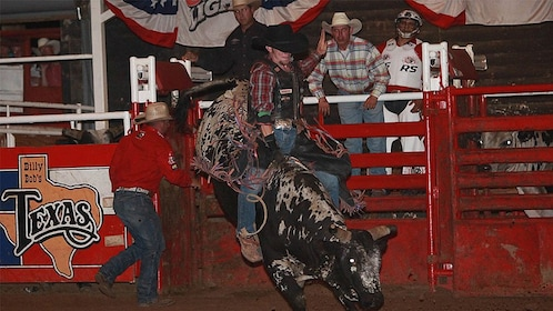 Professional rodeos at the Billy Bob's Texas in Dallas