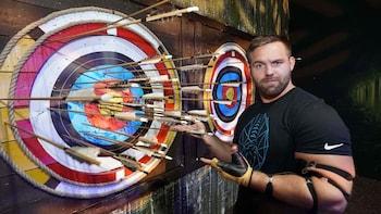 Indoor Archery at The Bear Grylls Adventure