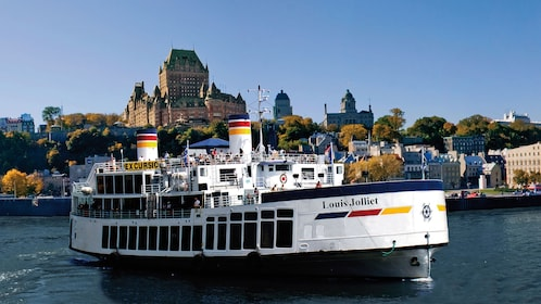 Exterior view of the Louis Jolliet river boat in Quebec City