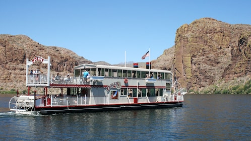 Dolly Steamboat on the Apache Trail in Arizona