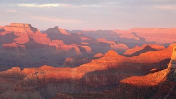 4x4 Sunset Tour mit Blick auf den Canyon und den Colorado River