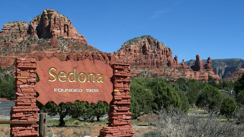Sedona welcome sign