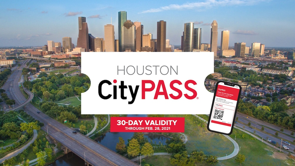 Show item 1 of 9. Houston CityPASS: Admission to Top 5 Houston Attractions