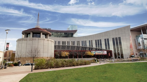 Exterior of the Country Music Hall of Fame in Nashville