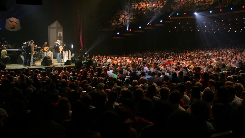Show item 2 of 5. Filled seats at the Grand Ole Opry House in Nashville