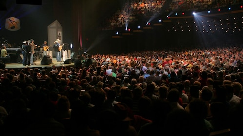 Filled seats at the Grand Ole Opry House in Nashville