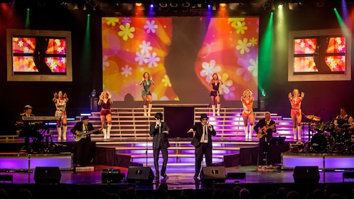 Blues Brothers impersonators on stage in Branson