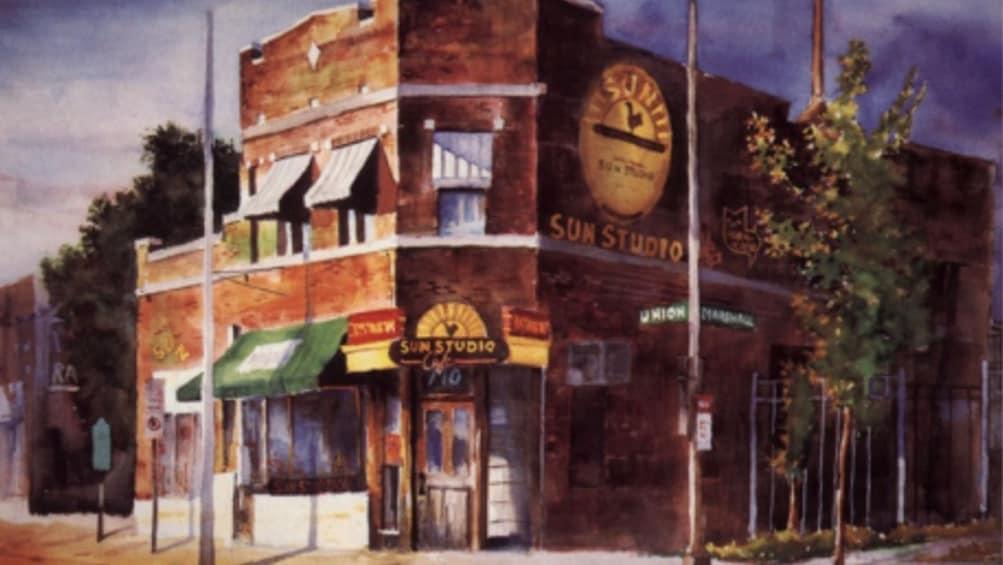 Show item 1 of 4. Sun studio in Memphis