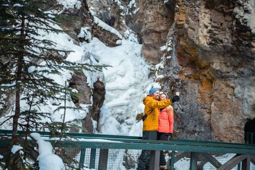 Show item 9 of 9. Discover Banff: Johnston Canyon Icewalk Tour