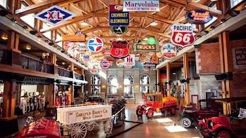 Entrée au Gasoline Alley Museum