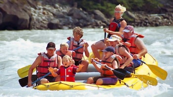 Athabasca Falls River Rafting Trip
