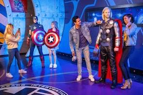 杜莎夫人蜡像馆好莱坞加上全新的漫威宇宙 4D!