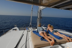 VIP Sailing Cruise by a Deluxe Catamaran