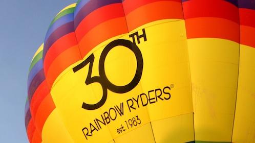 Rainbow Ryders hot air balloon in Arizona