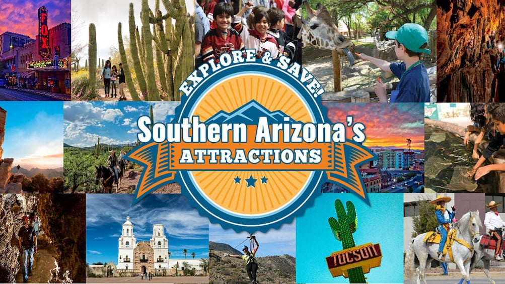 Show item 1 of 8. Tucson Attractions Savings Passport