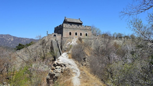 Station tower at the Great Wall in China