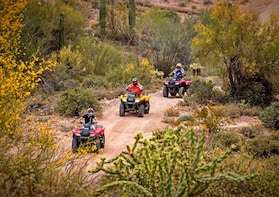 Bradshaw Mountains ATV or UTV Off-Roading Tours
