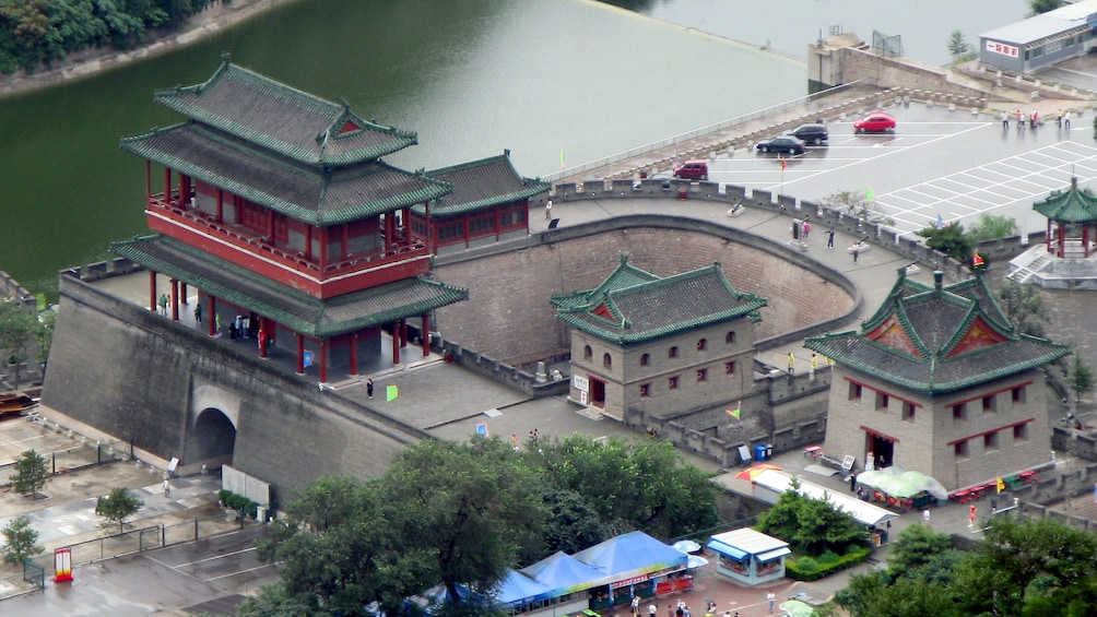Show item 3 of 5. Fortified structure in Beijing